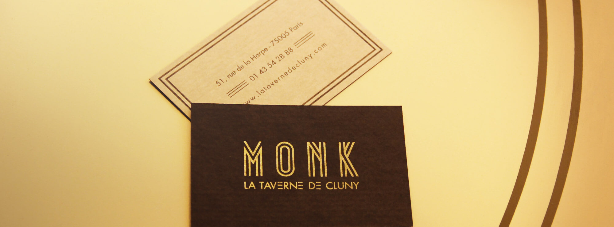 Préférence MONK - BEER BAR - Graphic design by Made for you HG62